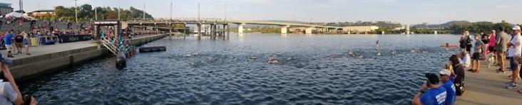 swim finish